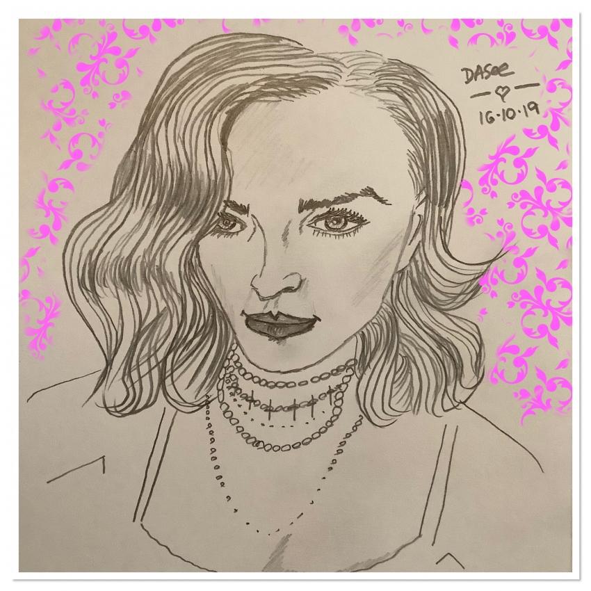 Madonna by dasee